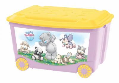 Ящик для игрушек Me to You розовый 580х390х335